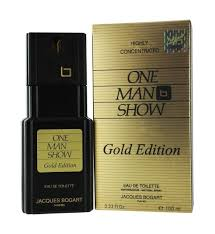 <b>One Man Show Gold</b> Edition by Jacques Bogart for Men 100 ml Eau ...