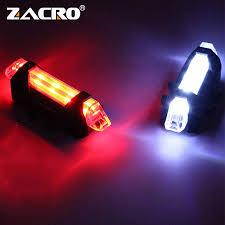 Zacro Bike <b>Bicycle light LED Taillight</b> Rear Tail Safety Warning ...