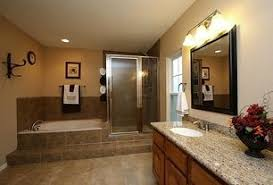 pics of bathroom designs: traditional full bathroom with brockport  light vanity light by dolan designs legacy series sand
