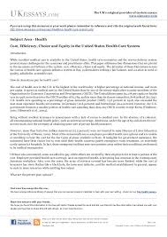 health essays   us health care systemthe uk    s original provider of custom essays