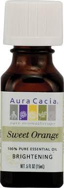 Aura Cacia 100% <b>Pure Essential Oil Sweet</b> Orange -- 0.5 fl oz ...