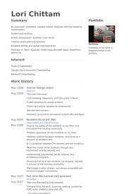 design intern resume samples   visualcv resume samples databaseinterior design intern resume samples
