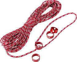 <b>Веревка</b>-<b>натяжитель</b> MSR Reflective Utility Cord Kit, 05818, красный