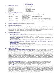 sample personal biodata sample personal biodata makemoney alex tk