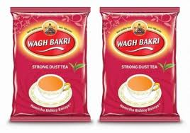 Waghbakri Dust Tea Pouch 250g (Pack of 2) Unflavoured Black Tea ...