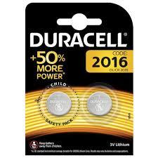 <b>Батарейки DURACELL</b> Lithium, <b>CR2016</b>, литиевые, КОМПЛЕКТ 2 ...