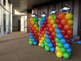Balloon pillar pair