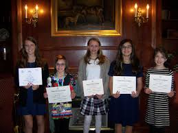 dar chapter honors young essay writers news com dar chapter honors young essay writers