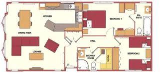 Burton Waters Lodges   Lodge Floor PlansLodge Floor Plans