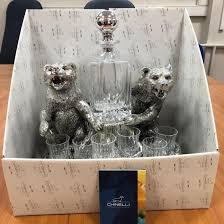 <b>Набор для водки</b> «Медведь» <b>Chinelli</b> – купить в Москве, цена 15 ...