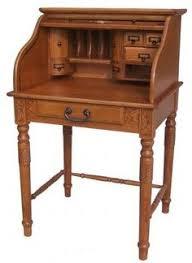vintage small computer desk