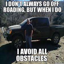 off road - WeKnowMemes Generator via Relatably.com