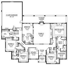 One Story Bedroom Bath House Plans   Home Design Mini s And    Nice Bedroom Single Story House Plans Floor   gt  Source  First Floor