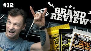 Grand Review #12 - <b>Струны Ernie Ball</b>//Сергей Головин, Дмитрий ...