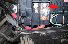 alternator fuse and fuse box battery wire replacement upgrade Tacoma Fuse Box 6 remove this wire harness 'socket' it has four tabs and is a bit tricky to pull out it will take some wiggling as it is connected to another socket tacoma fuse box diagram