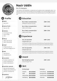 sample free it resume templates   resume sample informationsample resume for graphics designer   work experience