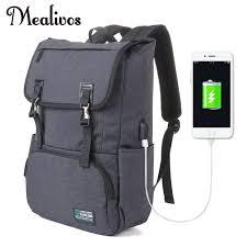 Mealivos USB Charging 17inch Laptop <b>Backpacks</b> For Teenager ...