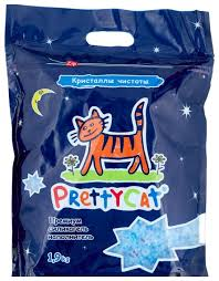 Купить Впитывающий <b>наполнитель PrettyCat Кристаллы чистоты</b> ...