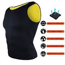 Buy Jukkre <b>Men Waist</b> Trainer Corset Vest for Weight Loss <b>Hot</b> ...