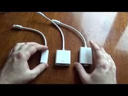 Обзор адаптеров с <b>Mini DisplayPort</b>'а на VGA и на HDMI - YouTube