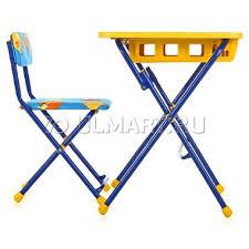 Комплект <b>детской мебели Nika</b> (<b>Ника</b>) Первоклашка осень (КУ2П ...