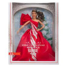 Купить Barbie <b>Barbie Праздничная кукла брюнетка</b> red в Москве ...