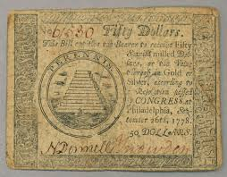 francis hopkinson org commons c c9 continental 50 note 1778