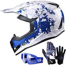 GLX Unisex-Child GX623 DOT Kids Youth ATV Off ... - Amazon.com