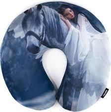 <b>Подушка</b> дорожная для шеи, серия <b>Animal</b>, дизайн <b>Sleeping</b> beauty