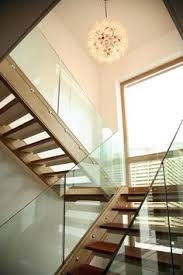 oak glass stairs bespoke glass staircase