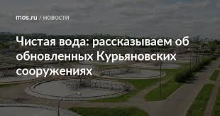 Чистая вода: рассказываем об обновленных Курьяновских ...