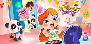 Little panda's <b>birthday party</b> - Apps on Google Play