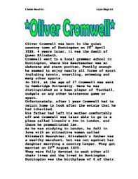 what were cromwell    s religious aims    a level history   marked by    oliver cromwell
