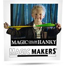 Magic Color Changing Hanky by Magic Makers - Easy ... - Amazon.com