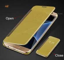 Отзывы на S7 Edge <b>Clear</b> View Flip <b>Cover Samsung Galaxy</b> ...