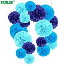 6inch 1piece wedding party decoration tissue paper pom poms flower balls for party supplies diy craft flower