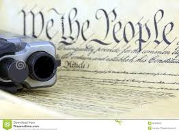 us constitution hand gun stock photos image  us constitution hand gun