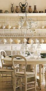 chic dining room french table chairs