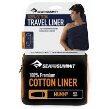 <b>Вкладыш</b> в спальный мешок <b>Sea to Summit</b> Cotton Traveller (с ...