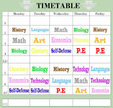 time table tk time table