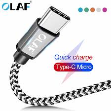 <b>OLAF</b> USB <b>Type C</b> Cable 3A Fast Charging <b>Type C</b> USB Cable For ...