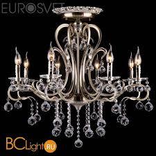 Купить <b>люстру Eurosvet</b> Ernin <b>12505/8 античная</b> бронза Strotskis с ...