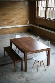 actual table parson dont love the actual table but like the ice of walnut table bench and