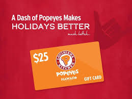 Popeyes Hawaii - Simplify your holiday gift list with...   Facebook