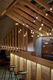 view in gallery simple and elegant lighting in the attic bar attic lighting ideas
