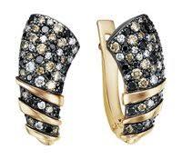 «<b>Серьги</b> с коньячными <b>бриллиантами</b>» — Одежда, обувь и ...