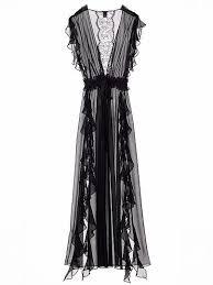 <b>Chiffon</b> Ruffle Robe - The <b>Victoria's Secret</b> Designer Collection ...