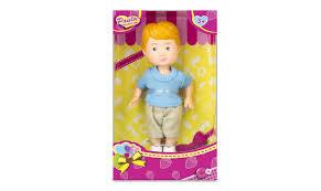 <b>Кукла Paula Мой друг</b>, голубая футболка, бежевые шорты ...