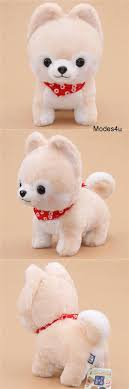 big cream white <b>Mameshiba</b> San Kyodai <b>plush toy</b> from <b>Japan</b> ...