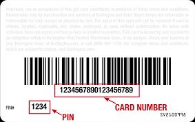 Burlington Gift Card Balance Check